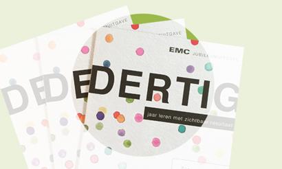 EMC jubileum magazine