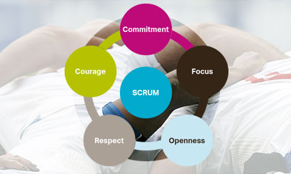 scrum-values